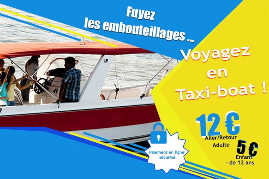 Taxi boat offer
