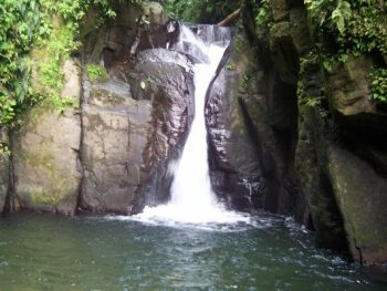 photo of the waterfall