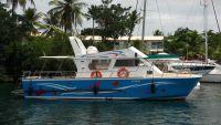 magnifique bateau au quai