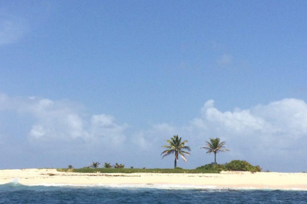 îlet en pleine mer - Atawane Martinique
