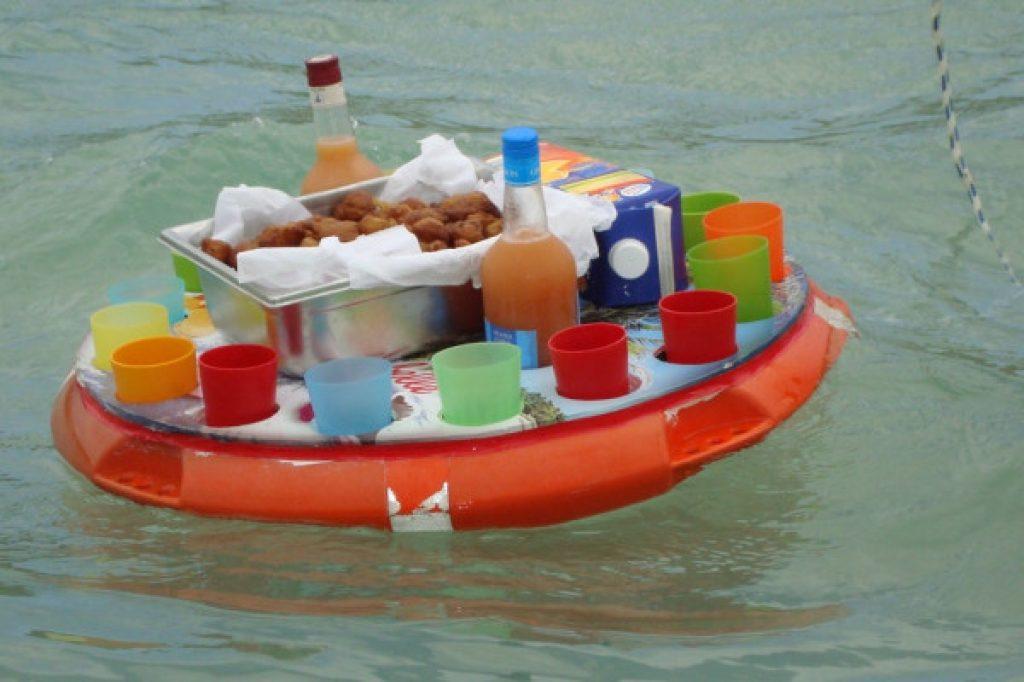 collation en baignage - activité Martinique