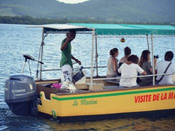 boat to visit the mangroves