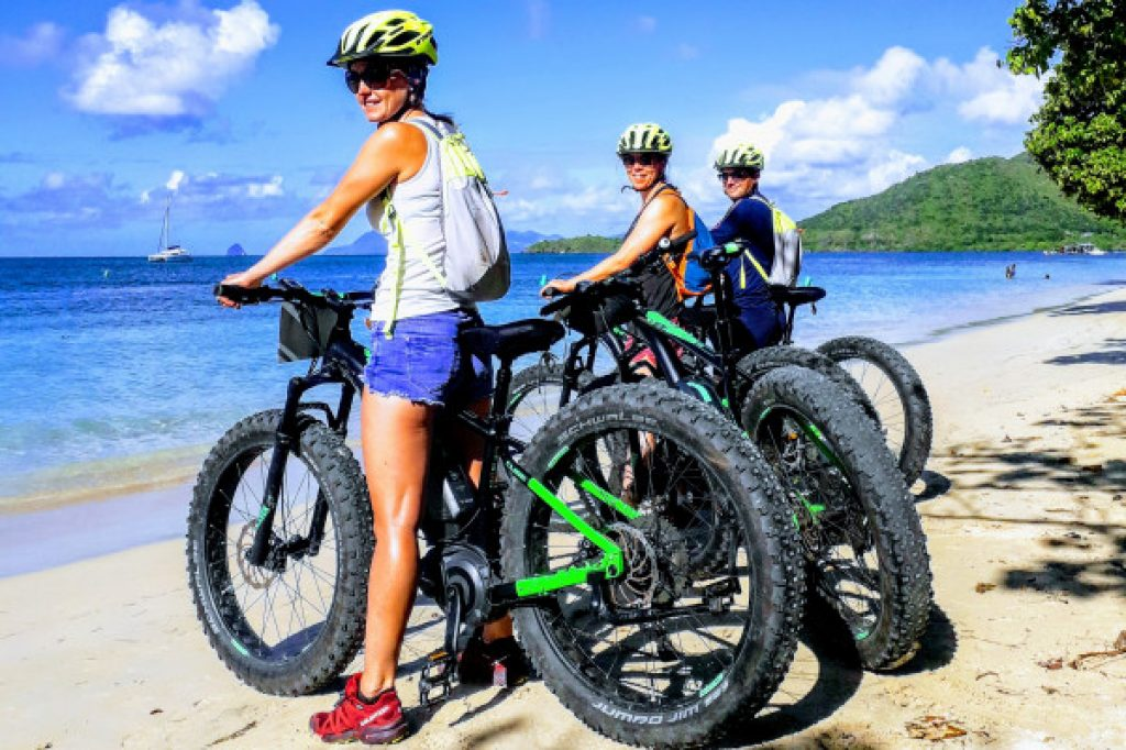 excursion in fatbikes or electric mountain bike