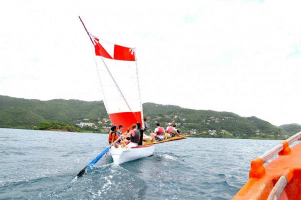 yole, traditional veil - Martinique activity