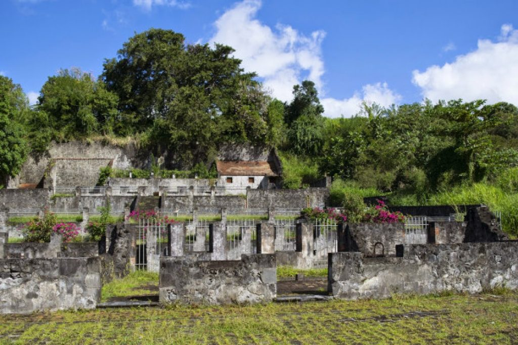 ruins culture and heritage - Martinique