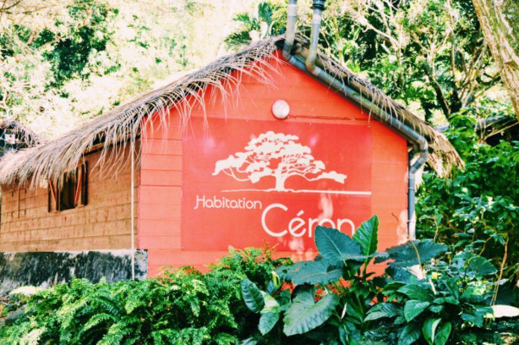 Céron housing - Martinique activity