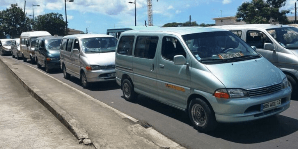 Taxis collectifs Martinque